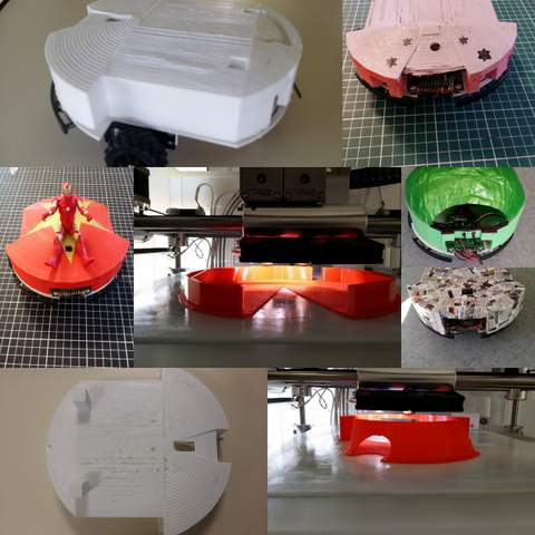 fabrication coques robot 3D