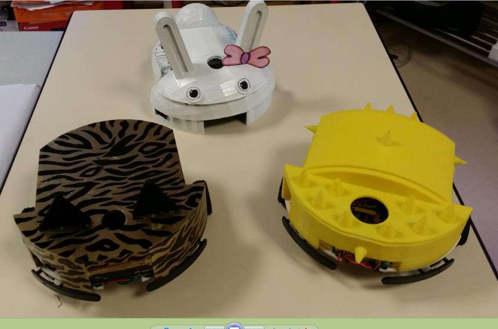 impression 3D robot